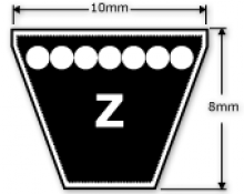 Z Section V Belts