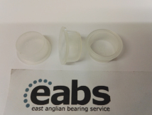 25x Cylinder shaped protection plugs with collar, Fits in M22, Fits around M20