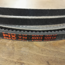 AVX13 x 1235 LA Drive belt, Lawn mower & Automotive PIX