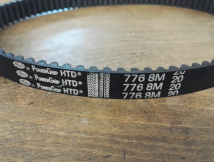 776-8M-20 TIMING BELT - GATES BRANDED - 8mm PITCH, 97 TEETH, 20mm WIDE