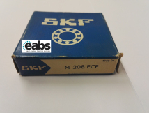 N208 ECP Cylindrical Roller Bearing (SKF Branded) 40x80x18mm